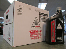 Genuine Honda 12 Quarts 1 case GN4 4 Stroke Motor Oil 10W30 GN4 ATV Motorcycle
