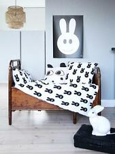 Scandinavian Swedish kids Monochrome single bedding bed set duvet -Miniwilla