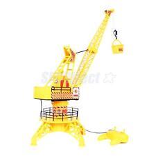 59.5x21.8x21.8CM Electric Remote Control Tower Crane Engineering Crane Toys