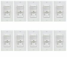 TSOS5 PIR Motion Sensor Occupancy Switch Manual ON Automatic ON/OFF White - 10PK