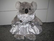 Bear Factory Koala Bear in Wedding Dress