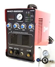Simadre Plasma Cutter 5200DX 50A Argon Regulator 200A Tig Arc Mma Welder 110/220