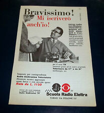 A178-Advertising Pubblicità-1958-SCUOLA RADIO ELETTRA