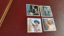 GIBRALTAR 2000 SG 937-940 THE QUEEN MOTHERS 100TH BIRTHDAY MNH