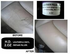LEATHER & VINYL SEATS REPAIR FILLER COMPOUND. CLEAR COLOR WHEN IT GETS DRY 100%