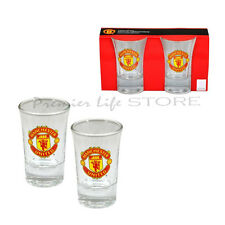 Manchester United Football Club-Club Crest Shot Glass Set