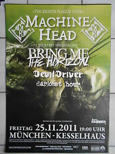 MACHINE HEAD  2011  MÜNCHEN   orig.Concert-Konzert-Tour-Poster-Plakat DIN A1