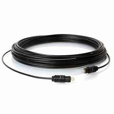 TOSLINK Optical S/PDIF Digital Audio Cable Fiber Dolby 15FT 5m High Quality DVD