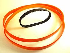 2 Polyurethane Band Saw TIRES + Motor Drive Belt for DELTA SM400 Shopmaster