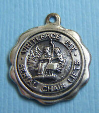 Vintage B&K Whiteface Mountain Aerial Chair Lifts New York skiing sterling charm