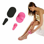 Face Arm Skin Smooth Leg Sheer Painless Hair Buffer Exfoliator Removal Pad