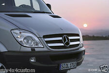 GRID GRILLE CHROMED STAINLESS STEEL ( 4 PIECES) MERCEDES SPRINTER W906 2006-2013