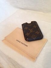 LOUIS VUITTON Monogram Cell Mobile Holder, iPhone 3, iPod