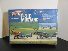 RARE Walthers Cornerstone Series Model Denmark scale 1/87 Mustang P-51D aircraft