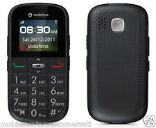VODAFONE 155 ALCATEL V155 GUN GREY BIG BUTTON SENIOR PHONE UNLOCKED EMERGENC SOS