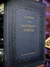 BEZZANT: A STORY OF AN 'ANTIENT' LODGE ~ 1ST EDN 1917 DECORATIVE CLOTH ~ MASONIC