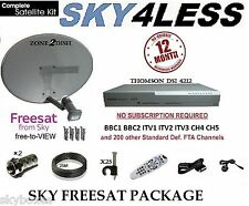 BOX SKY SATELLITARE DIGI BOX, compresa la zona 2 Dish & 25m KIT COMPLETO