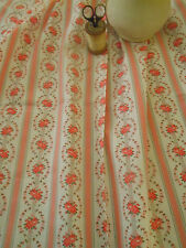 Antique Cameo Ribbons Roses Cotton Fabric ~