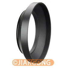 82mm metal wide angle screw in mount lens hood for Canon Nikon