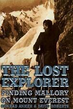 Conrad Anker & David Roberts~THE LOST EXPLORER~SIGNED 1ST/DJ~NICE COPY