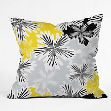 Couch Bed Throw Pillow, 26 x 26 DENY Designs Karen Harris Bumble Bee Whisper