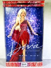 NIB BARBIE DOLL 2002 DIVA COLLECTION RED HOT
