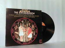 "THE 5TH DIMENSION ""THE AGE OF AQUARIUS"" ORIGINAL LP SCS-92005 NO BAR CODE"