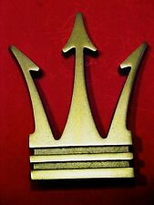 Maserati Front Grille Emblem Trident Badge Ghibli Bora Indy Quattroporte NEW OEM