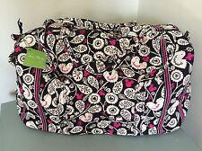 NWT Vera Bradley Large Duffel Disney Mickey Mouse Meets Birdie Luggage $85