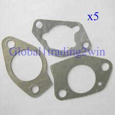5 Pack Carburetor Gasket Gaskets For HondaGX340 GX390 Engine Motor