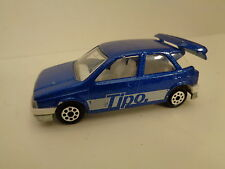 Fiat TIPO blau Majorette S 200 Nr. 286 1/54 80 er Jahre