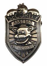 Five Nights At Freddy's Security Logo Costume Pin