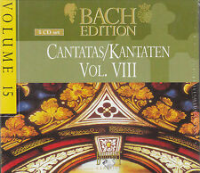 BACH EDITION BRILLIANT CANTATAS VOL 8 BOX 5 CD