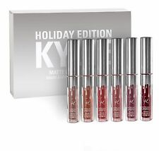 Kylie Jenner HOLIDAY Edition Matte rossetto liquido labbro KIT Kardashian in magazzino