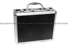 SA Aluminum Pistol Gun Box With Code Lock (Black) SAP-BOX-CLOCK-BK