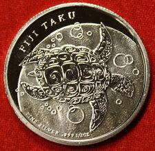 2013 FIJI TAKU DESIGN 1/2 oz .999% SILVER ROUND BULLION COLLECTOR COIN