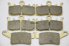 Front Rear Brake Pads For Can-Am Brakes 2014 Can Am Spyder RT Limited SE6 SET