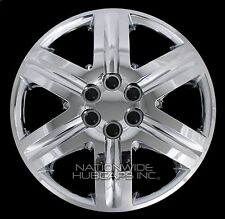"Set of 4 18"" Chrome Full Wheel Covers Hub Caps Tire Rim Hubs fit Steel Wheels"