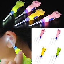 Kids 3 in 1 Ear Pick Curette Wax Earpick Cleaner Removal Earwax Remover Tool