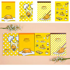 11Sanrio Gudetama Lazy Egg Letter Pad Set (18 Designs 81 sheets) : 1pk Random