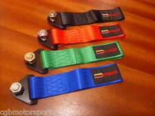 RENAULT 5 GT TURBO NEW NYLON FRONT TOWING EYE POINT LOOP STRAP TRACK HOOK RED