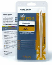 William Mitchell Dip Pen Calligraphy Set - Italic (Square Cut)