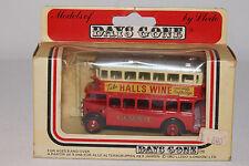 LLEDO Days-Gone 1930's AEC Double Decker Bus Hall's Wine