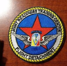 ARMY AVIATION PATCH,JOINT READINESS TRAINING CENTER FLIGHT DETACHMENT
