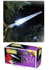 80 ICICLE ICE SCULPTURE LED CHRISTMAS LIGHTS 13 Metres MULTI ACTION HOUSE & TREE