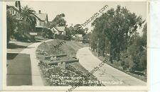 CALIFORNIA, POINT LOMA FORT ROSECRANS  REAL PHOTO VINTAGE (CA-P MISC2)