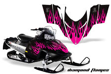 AMR Racing Sled Wrap Polaris Switchback Snowmobile Graphics Kit 06-10 DMNDFLAME