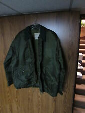 VTG 1976 US Army EXTREME COLD WEATHER IMPERMEABLE COAT JACKET alpha sz large