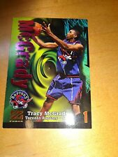 1998/99 Skybox Z Force Tracy McGrady Rookie Card # 172 Toronto Raptors