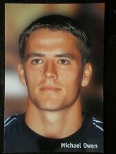 POSTCARD B45 SPORT MICHAEL OWEN - CLOSE UP